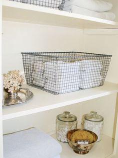 Guest Bath Shelf