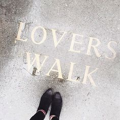 Lovers walk in #beaucoops  Travel blogger @theloveassembly in our beau5 boots in black.  Online now || www.beaucoops.com