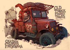 Old truck fairly tales by Andrey Tkachenko
