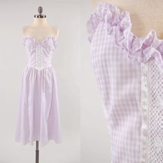 Tina- gonna make a sexier floor-length version or find a diff lavender dream!
