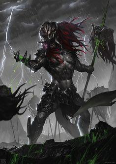 predator butcher, mist XG on ArtStation at https://www.artstation.com/artwork/Q8E68
