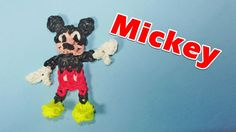 Rainbow Loom Charms: MICKEY MOUSE: How To Design / Tutorial (DIY Mommy) ...