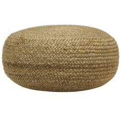 Our round woven pouf is ideal for doing just that. Most commonly used as an ottoman, this natural jute pouf is versatile.use it as footstool, extra seating or top it with a tray and use it as an accent table. Tufted Storage Bench, Storage Benches, Floor Pouf, Floor Pillows, Tufted Ottoman, Wicker Ottoman, Ottoman Decor, Wood Dust, Lounge Areas