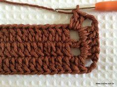 retangular simples passo a passo Tapete retangular simples passo a passo retangular simples passo a passo Crochet Home, Love Crochet, Crochet Motif, Crochet Doilies, Crochet Stitches, Knit Crochet, Knitting Patterns, Crochet Patterns, Crochet Squares