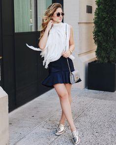 Mid-week #ootd inspo, c/o @fashionismyfortee.