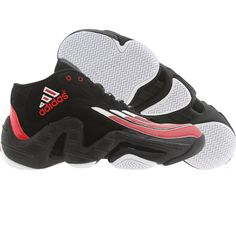 5b37ca88c058 Adidas Men Real Deal - Antoine Walker (black   runninwhite   light scarlet)