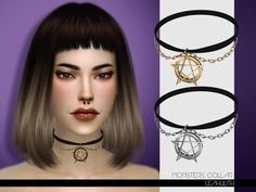Monsters Collar  Found in TSR Category 'Sims 4 Female Necklaces'