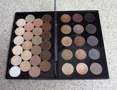 Eyeshadow Addicts Anonymous: NEW MAC PRO PALETTE REVIEW -- Large Duo (Double Sided) Palette