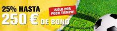 el forero jrvm y todos los bonos de deportes: interwetten Asegúrate para derbi un bono de 250 eu...