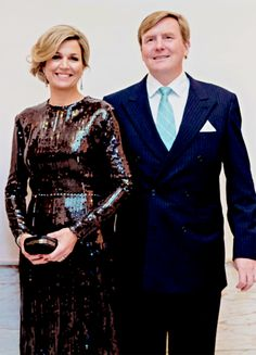 Het Koninklijk Huis...22 January: The King and Queen joined the King and Queen of the Belgians in attending a concert for the Dutch Presidency of the Council of the European Union in Brussels, Belgium