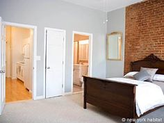 Located in Harlem's Morningside Heights, Manhattan, those 2 bedrooms feature with en-suite bathrooms. They are part of a shared townhouse that is tastefully decorated, take a look at it!