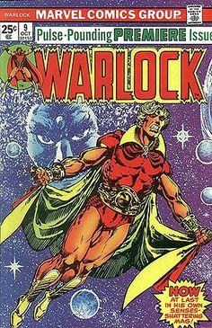 Warlock No. 9 (Oct. 1975) Cover by Jim Starlin