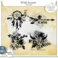 Wild Season by HappyNess {Brush}   http://digital-crea.fr/shop/index.php?main_pag