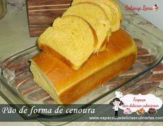 Pão caseiro, pão de forma, pão, Pão de forma de cenoura