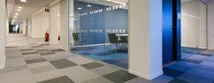 Skatteverket carpet tile installation Interface projectsSearch Sweden