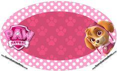 Uau! Veja o que temos para Placa Elipse Patrulha Canina para Meninas
