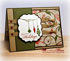 Rocky Mountain Paper Crafts: Merry Monday #32 #PearAndPartridge