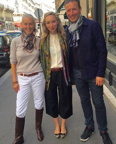 It Is Paris Fashion Week, and Crimson was honored To Have The visit Of Sabina Savage And her working partner, Paul. The artistry of this young woman Is ON ANOTHER LEVEL And I Am So fortunate To Have her Beautiful scarves In My shop. Thank you @sabinasavage