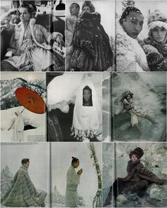 Diana Vreeland, Vogue 1966 // Veruschka & Richard Avedon, in Japan