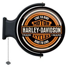 Harley-Davidson Motorcycles Rotating Pub Light. HDL-15622