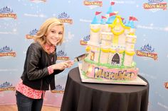 Actor G Hannelius, currently starring in the Disney Channel sitcom Dog with a Blog, celebrates the launch of Disney Magical World at the Nintendo World store in New York on April 12, 2014. #nintendo #disney #disneymagicalworld