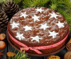 Our Editor is going to make this christmas cake next week!