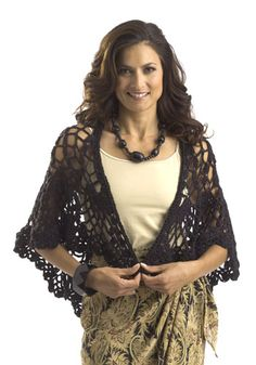 free pattern - Pineapple Shawl designed by Karen Drouin