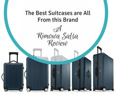 The Best Travel Suitcases are All from This Brand! A Rimowa Salsa Review!