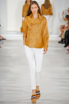 Ralph Lauren Spring 2016 Ready-to-Wear Fashion Show - Zoe Huxford