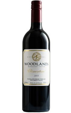 Woodlands Clémentine Cabernet Merlot Petit Verdot 2015 Margaret River - 12 Pack  At $456.00