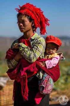 Mother and child in the chilli fields #Myanmar #adventuretravel #photography via Life Through A Lens http://ift.tt/1Gjageu