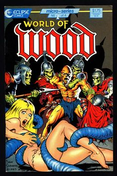 World of WALLY WOOD #1 eclipse comics collection Archie Goodwin Dan Adkins Silver Age Fantasy Anthology Alternative Reprint Comic