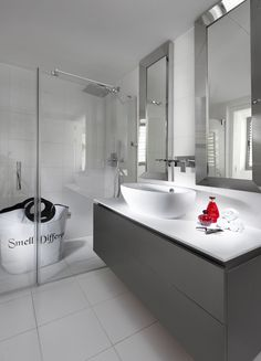 אורית סנדרעיצוב אמבטיית אורחים