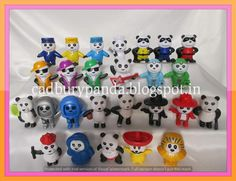 Cadbury Gems Surprise - Pandas Edition - The Complete Collection Raho Umarless Cadbury Gems, Childhood Memories, Toys, Collection, Pandas, Activity Toys, Clearance Toys, Gaming, Games