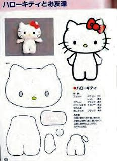 FREE Felt Hello Kitty Pattern