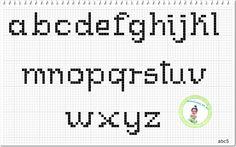 Monograma abc5 Minusculas