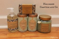 The new line of Hallmark Crafters and Co home goods make the perfect gift for any occasion including hostess gifts and the holidays.