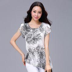 Women Vintage Half/Short Sleeve Blouse