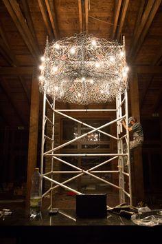 Lighting Tower, Chandelier, Ceiling Lights, Lighting, Building, Home Decor, Rook, Candelabra, Decoration Home