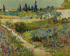 Vincent Van Gogh - Garden at Arles
