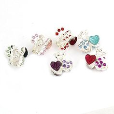 FOREVER YUNG 6 Pcs Assorted Color Metal Barrette Hairpin Clamp Hair Claws for Girls >>> To view further for this item, visit the image link.