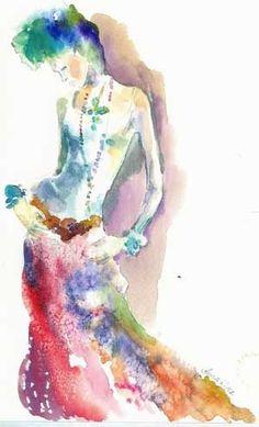 Anna Kiper Fashion Illustrations