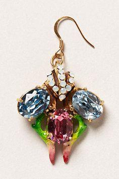 Jeweled Entomology Drops - anthropologie.com