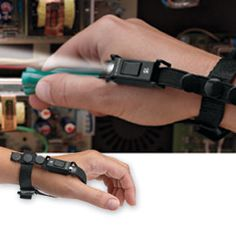 Hand-Mount Tool Light, Wearable LED Work Light | Solutions //