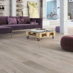 Parkettgulv Eik Various Hvit Barlinek Grey Flooring, Wooden Flooring, Arizona, Engineered Wood Floors, Alaska, The Originals, Table, Room, Furniture