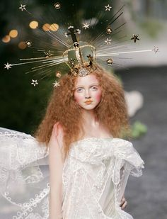 Dior by John Galliano 2005, Lily Cole. Trace the parallels between Galliano and Margiela here: http://www.dazeddigital.com/fashion/article/23127/1/galliano-vs-margiela-a-visual-history