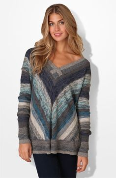 Chevron sweater by free people