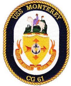 CG-61 USS MONTEREY PATCH