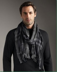 Josh Wald. Men's Scarf - now if I could just get my husband to wear scarfs