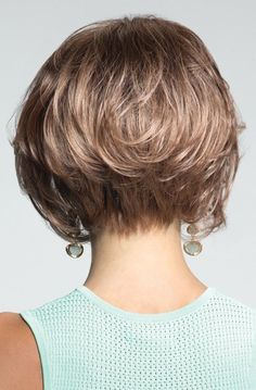Shop our various cheap monofilament wigs, mono wigs, mono wig discretely and affordably. Comfortable Brown Wavy Short Monofilament Wigs for all dear customers at Wigsis. Short Hairstyles For Thick Hair, Short Pixie Haircuts, Short Hair Cuts, Wig Hairstyles, Short Hair Styles, Pixie Cuts, Bobbed Haircuts, Medium Hairstyles, Straight Thick Hair